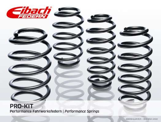 Eibach Performance springs Audi A4 B8 b9 2wd 4wd quattro sedan wagon