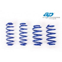AP lowering springs VW Golf MK7 VII AU twisted-beam rear axle only